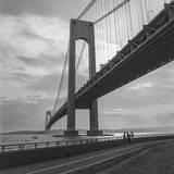 Verrazano Bridge, New York City Afernoon Muursticker van Henri Silberman