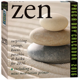 Zen Page-A-Day - 2016 Boxed Calendar Calendars