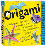 Origami  Color Page-A-Day - 2016 Boxed Calendar Calendars
