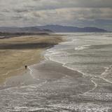Ocean Beach, San Francisco, CA 1 (Surf, Sand, Shoreline, California Coast, Pacific Ocean) Kalkomania ścienna autor Henri Silberman