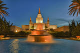 Morman Temple with Fountain, Oakland, Ca Wall Decal by Henri Silberman