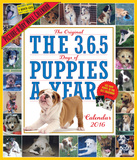 The 365 Puppies-A-Year Picture-A-Day - 2016 Calendar Calendars