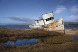 Point Reyes Boat 1 Wall Decal by Henri Silberman