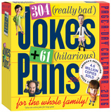 304 Really Bad Jokes + 61 Hilarious Puns Page-A-Day - 2016 Boxed Calendar Calendars