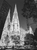 St. Patricks Cathederal, NYC Daytime 1 - New York City Landmark Midtown Manhattan Metal Print by Henri Silberman