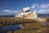 Point Reyes Boat 2 Muursticker van Henri Silberman