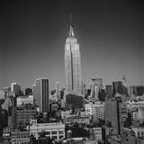 Empire State Building, New York City Wall Decal by Henri Silberman