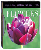 Flowers Page-A-Day Gallery - 2016 Boxed Calendar Calendars