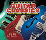 Electric Guitar Classics - 2016 Boxed Calendar Calendars