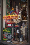 Cigar Store Window, Oakland, CA (Neon Sign) Wall Decal by Henri Silberman