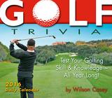 Golf Trivia - 2016 Boxed Calendar Calendars