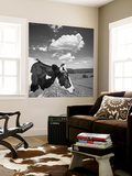 Cow Cloud Kingston, New York Wall Mural by Henri Silberman