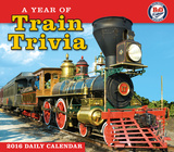 A Year of Train Trivia - 2016 Boxed Calendar Calendars