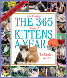 The 365 Kittens-A-Year Picture-A-Day - 2016 Calendar Calendars