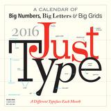 Just Type - 2016 Calendar Calendars