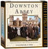 Downton Abbey Color Page-A-Day - 2016 Boxed Calendar Calendars