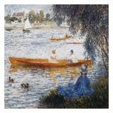 Canotier à Argenteuil Print by Auguste Renoir