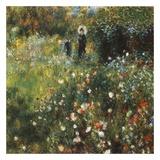 Femme à l'ombrelle Posters by Auguste Renoir