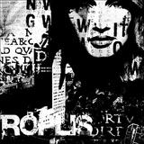 Metropolis I Print by  Fline