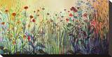 Sommerfreude Bedruckte aufgespannte Leinwand von Jennifer Lommers