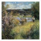 La Seine à Chatou 2 Prints by Auguste Renoir