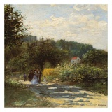 Une route à Louveciennes Prints by Auguste Renoir