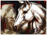 La maline chevaline Print by Marie Andrée Leblond