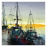 Port de mer Print by Roland Palmaerts
