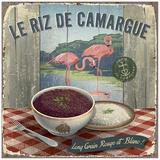 Riz de Camargue Print by Bruno Pozzo