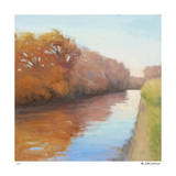 Creekside Stroll Giclee Print by David Skinner