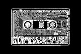 The 80's - Cassette Tape - Created out of Popular sayings and images the define the 80s Generation Plastic Sign
