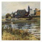 La Seine à Chatou Posters by Auguste Renoir