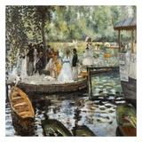 La Grenouillère 2 Prints by Auguste Renoir