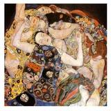 Gustav Klimt - Die Jungfrau - Reprodüksiyon