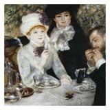 Après le déjeuner Prints by Auguste Renoir