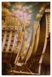 Le Caniveau des ombres fluides Poster by Alain Cardinal