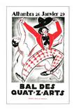 Bal des Quat'z'Arts Art by  Archive