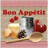 Bon Appétit Poster by Galith Sultan