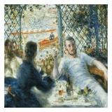 Le déjeuner au bord de la rivière Posters by Auguste Renoir