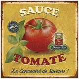 Sauce tomate Prints by Bruno Pozzo