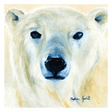 Ours polaire Art by Sylvia Audet