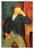 Seated boy Art by Amedeo Modigliani