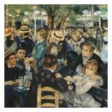 Au bal du moulin de la galette Art by Auguste Renoir