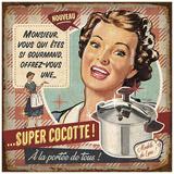 Super cocotte Posters by Bruno Pozzo