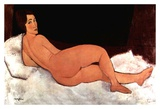 Lying nude Art by Amedeo Modigliani