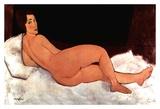 Lying nude Art by Amedeo Modigliani