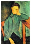 The boy Posters by Amedeo Modigliani