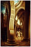 La rôdeur du Pantheon Prints by Alain Cardinal