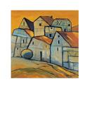 Houses V Prints by Victor Moreno