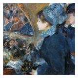 À l'opéra Poster by Auguste Renoir